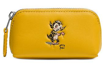 COACH X BASEMAN COSMETIC CASE 9 IN LEATHER @ macys.com