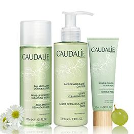 3 Free Deluxe Samples with $50 Purchase @Caudalie