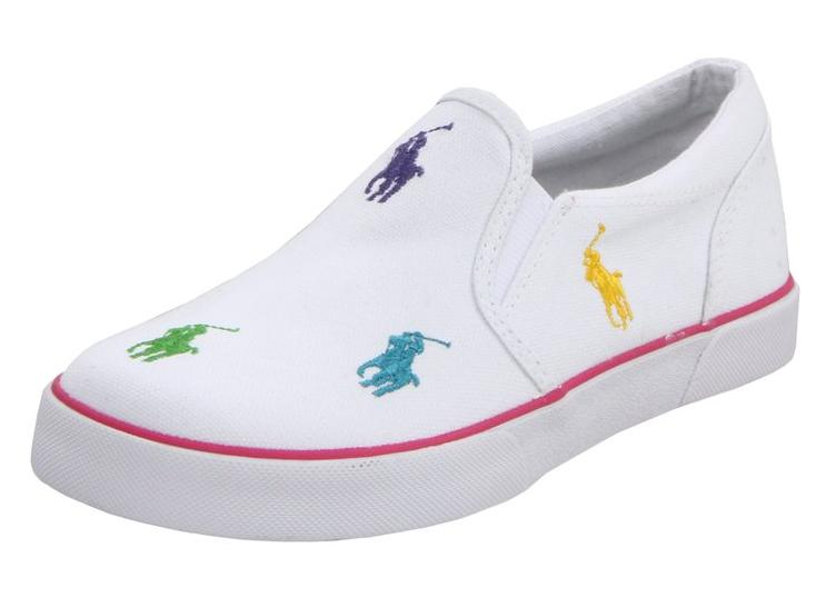 Polo Ralph Lauren Kids Bal Harbour RPT Slip-On Sneaker