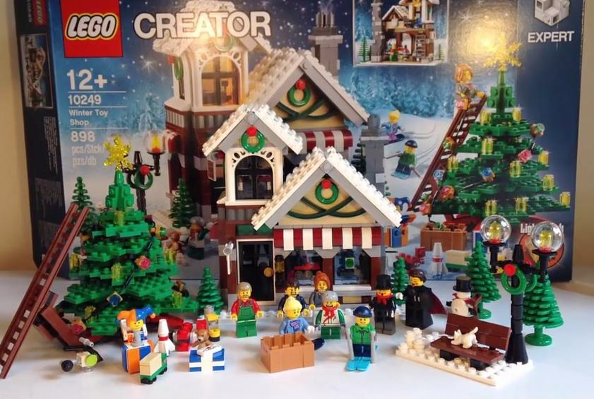 $79.95 LEGO Creator Expert Winter Toy Shop 10249