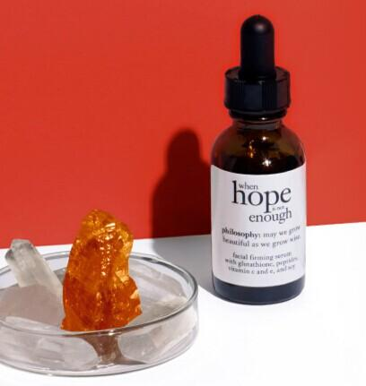 Free when hope is not enough serum with Any $50 Purchase @ philosophy