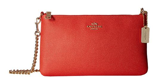 COACH Embossed Texture Leather Kylie Crossbody @ 6PM.com