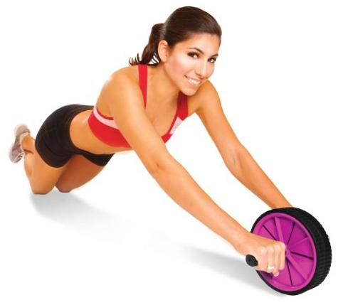 $7.99 Tone Fitness Ab Toning Wheel