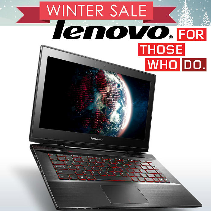 Save up to 65% Lenovo Winter Sale!