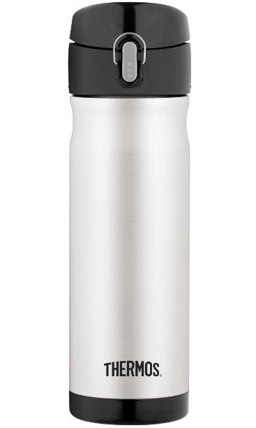Thermos 16 Ounce Stainless Steel Commuter Bottle, Stainless Steel @ Amazon