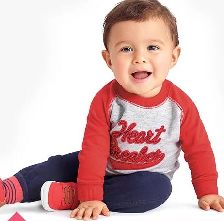 Up to 25% Off + Extra Up to 20% Off Baby's Valentine's Day Clothing Sale @ Carter's
