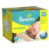 $2 Off + Extra 5% Off Select Pampers Diapers @ Amazon.com
