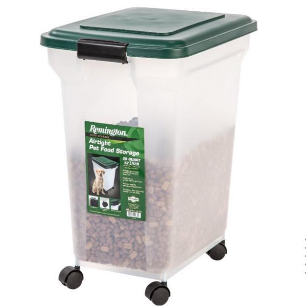 Lowest price! Remington Airtight Pet Food Storage