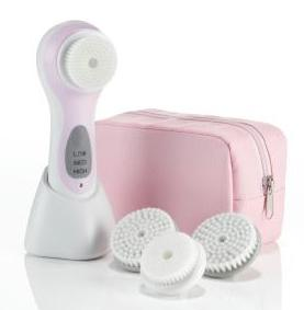 Conair True Glow Sonic Facial Skincare System, Pink