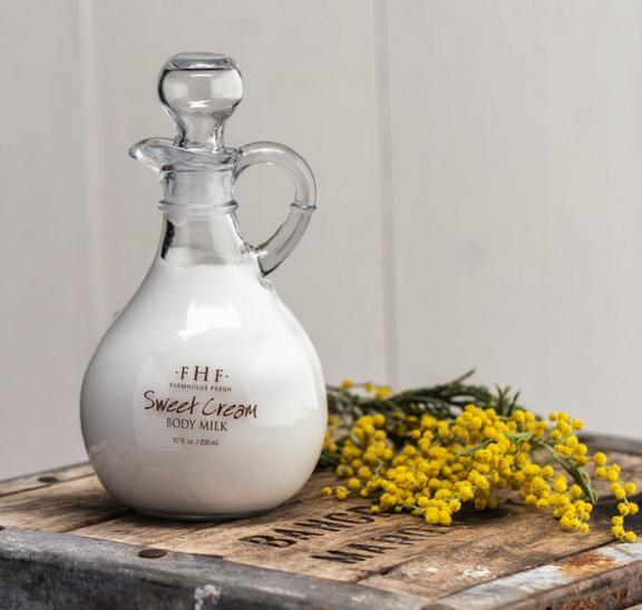 FarmHouse Fresh Sweet Cream Body Milk Cruet