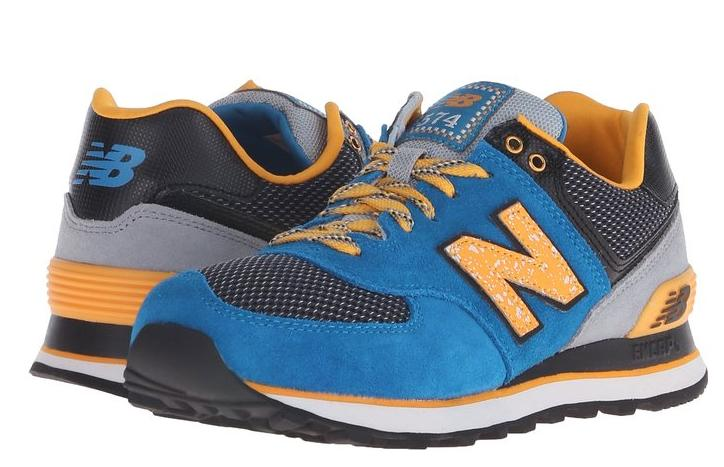 New Balance Women's WL574 Outside In Pack Classic Running Shoe @ Amazon