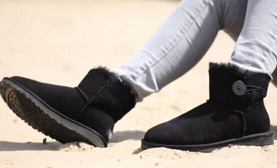 UGG® Australia 'Mini Bailey Button' Boot  @ Nordstrom