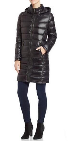 CALVIN KLEIN Packable Puffer Coat @ Lord & Taylor