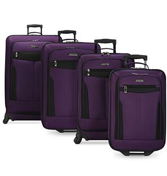 Travel Select Segovia 4 Piece Spinner Luggage Set