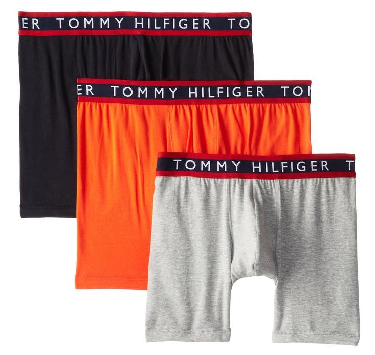 $19.99 Tommy Hilfiger Men's 3-Pack Boxer Brief