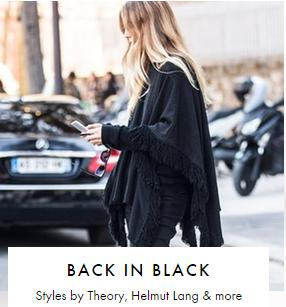 Up to 75% Off Black Apperal Sale @ The Outnet