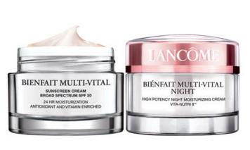 Up to 15% off + 6 Deluxe Samples BIENFAIT MULTI-VITAL DUAL PACK @ Lancome
