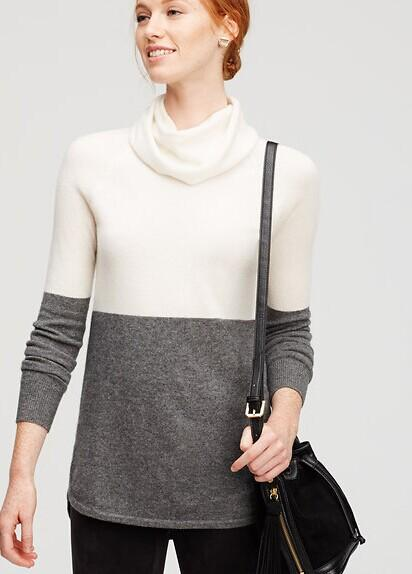 $49.88 Cashmere Sweater @ Ann Taylor