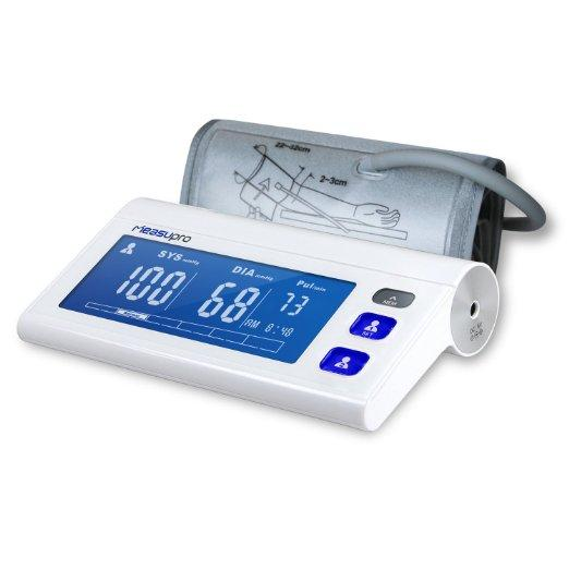 MeasuPro Arm Digital Blood Pressure Monitor