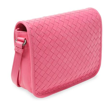 Bottega Veneta Intrecciato Small Woven Leather Crossbody On Sale @ Gilt