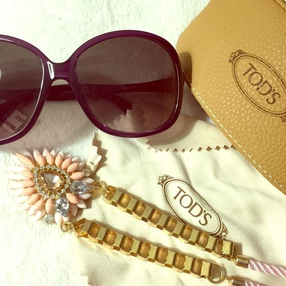 Tod's Injected Butterfly Sunglasses
