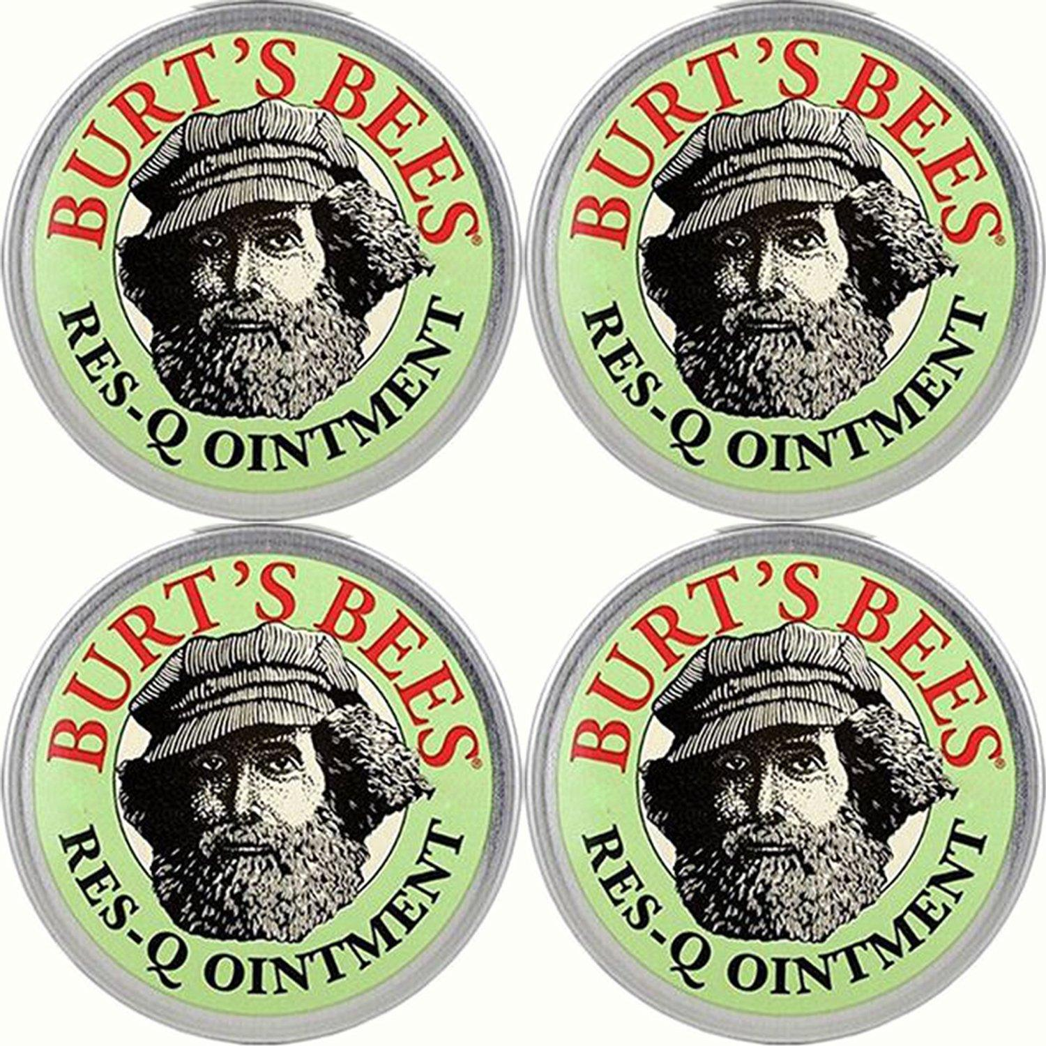 $7.49 Burt's Bees 100% Natural Res-Q Ointment, 0.3 Ounces (Pack of 4)