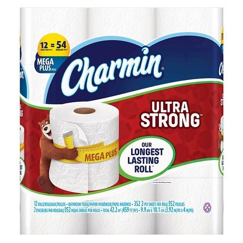 Free $5 Gift Card when You Buy 2 Charmin, Tide & Bounty Items @Target