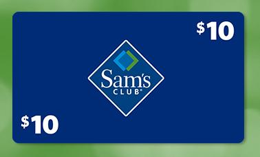 Free $10 Gift Cardwhen You Join or Renew Your Membership @Sam's Club