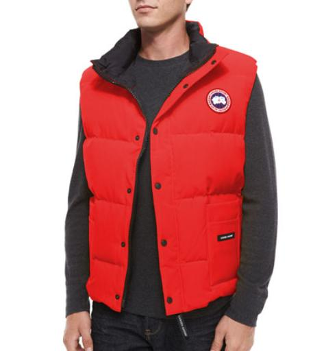 Canada Goose  Freestyle Down Puffer Vest, Red @ Bergdorf Goodman
