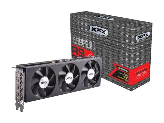 XFX Radeon R9 Fury 4GB 4096-Bit HBM Video Card