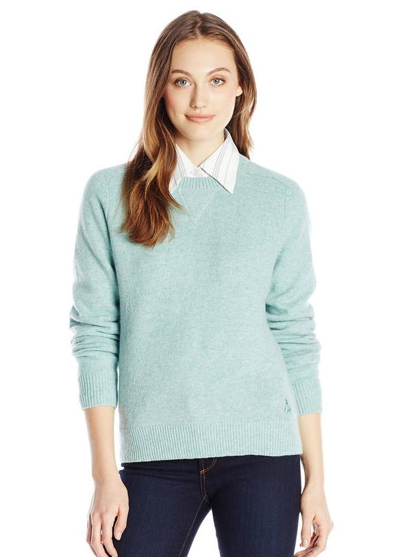 Pendleton Women's Patches Pullover Sweater @ Amazon