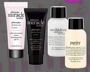 Free 4-Pc Gift with $35 Philosophy Purchase @ Bon-Ton