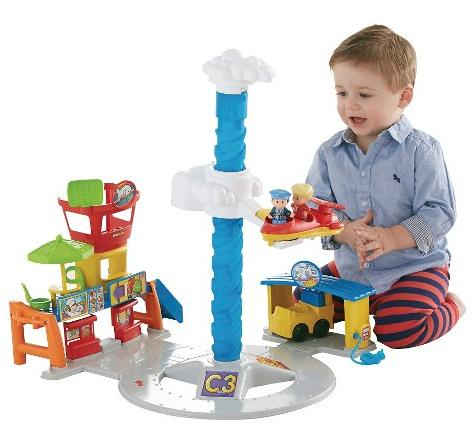 Fisher-Price Little People Spinnin' Sounds Airport @ Target