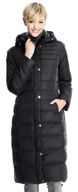 Women's Chalet Down Long Coat @ Lands End