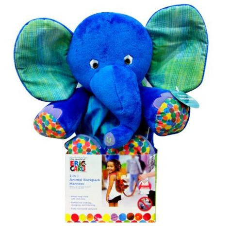 Eric Carle Backpack Harness, Elephant @ Amazon