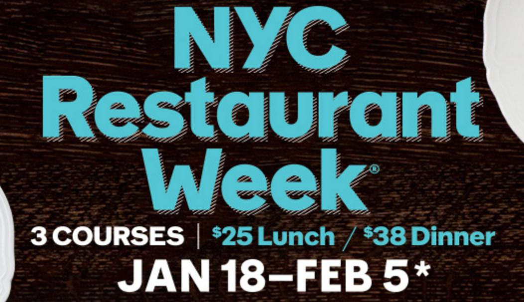 Spend $25 Get $5 Back During Restaurant Week in NYC