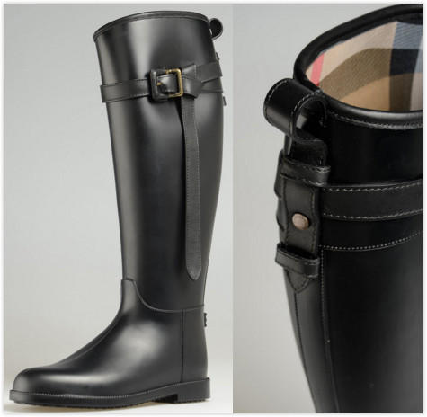 Burberry Rubber Riding Boot On Sale @ Nordstrom