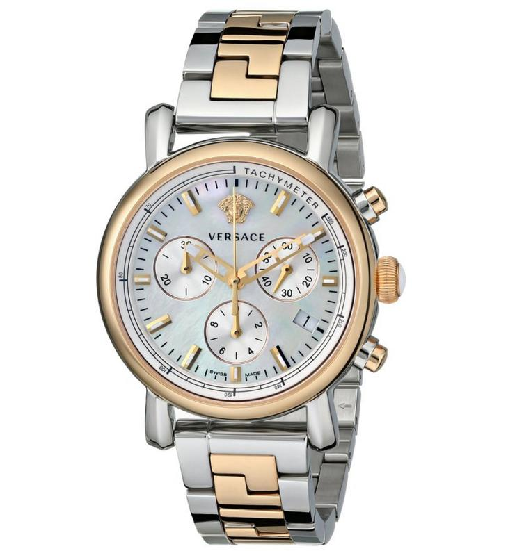 Versace Women's VLB090014 Day Glam Two-Tone Stainless Steel Watch
