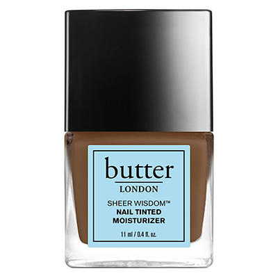 New Release Butter London launched new Sheer Wisdom Nail Tinted Moisturizer