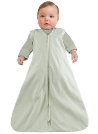 HALO SleepSack 100% Cotton Wearable Blanket, Sage, Medium @ Amazon