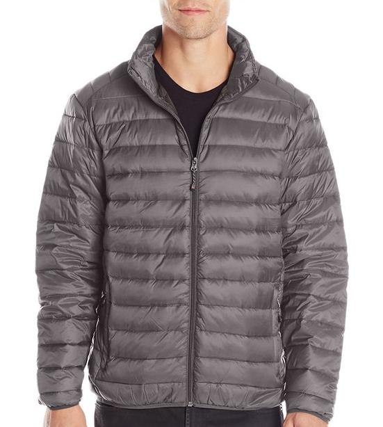Hawke & Co Men's Packable Down Puffer Jacket with Shoulder Stitching @ Amazon
