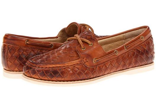 Frye Quincy Soft Weave Boat Women's Shoes On Sale @ 6PM.com