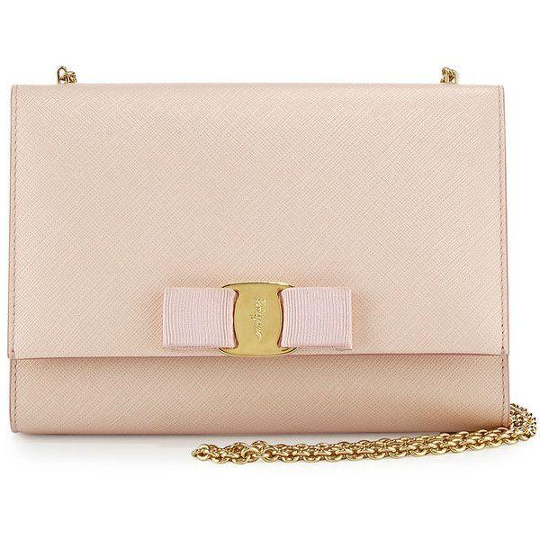 Salvatore Ferragamo Miss Vara Mini Crossbody Bag, Macaron