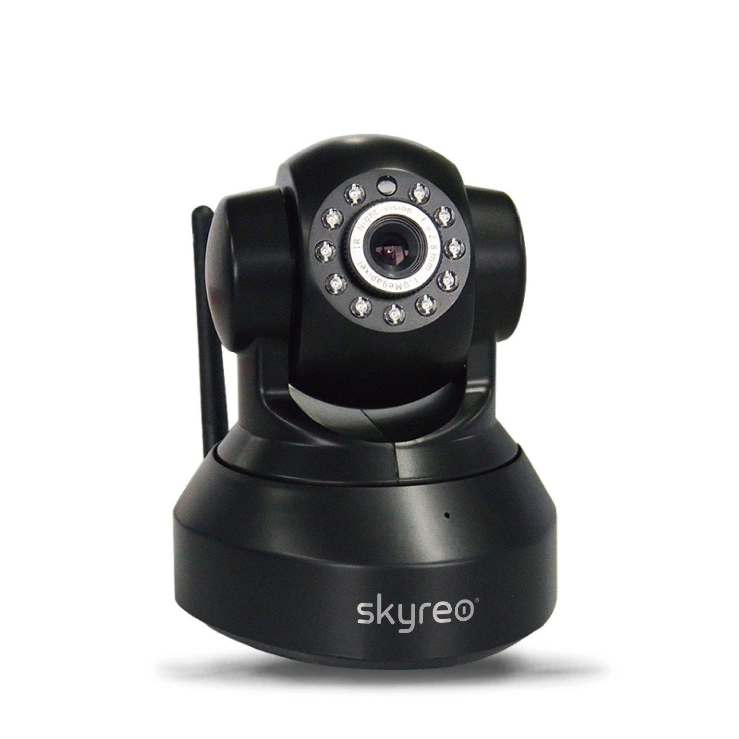 Skyreo SR8918W-BLUS Wireless IP Network Surveillance Camera (Black)