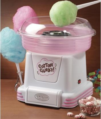 Nostalgia Electrics Hard Candy Cotton Candy Maker PCM805