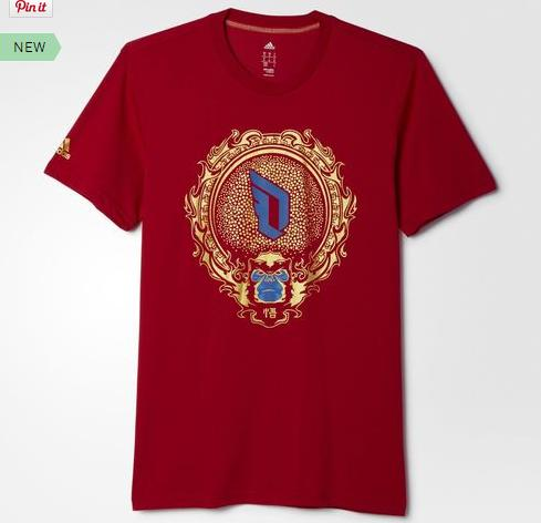 $30 adidas Chinese New Year Tee