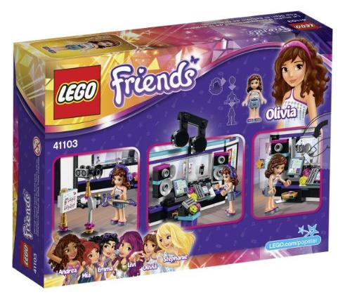LEGO Friends 41103 Pop Star Recording Studio Building Kit