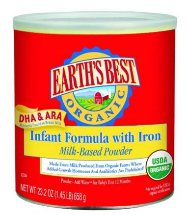 Extra 15% Off Earth's Best and Ella's Kitchen @ Amazon