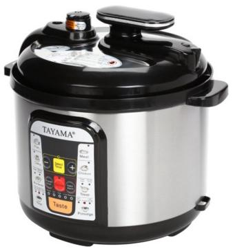 $59.99 Tayama 5-Liter 5-in-1 Multi-Cooker and Pressure Cooker B8