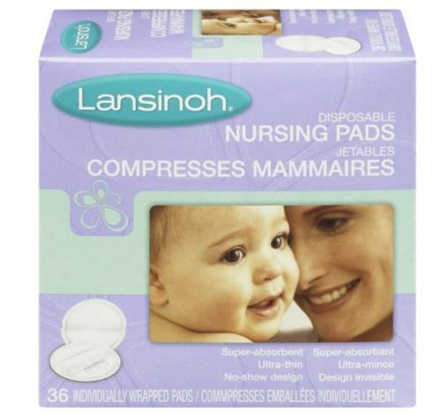Lansinoh Disposable Nursing Pads, 36 Count @ Amazon